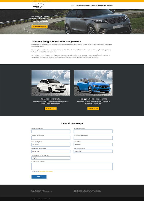 Link107-realizzazione-sito-web-noleggio-auto-treviso-venezia-padova-jesolo-auto